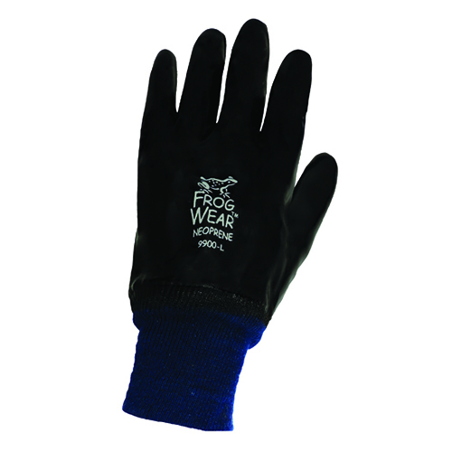 9900- FrogWear, Chemical Resistant, PVC and Nitrile, Neoprene Supported Glove
