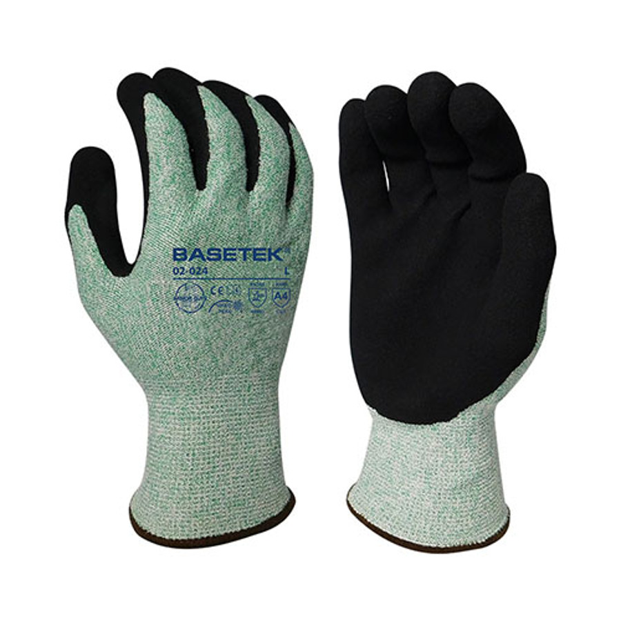 Armor Guys, Cut Level A4, Black Micro Foam Nitrile Palm Coating, 13 Ga, 02-024