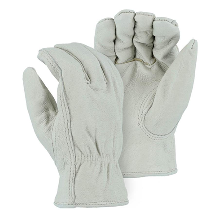 1511P Winter Fleece Lined Pigskin Drivers Glove