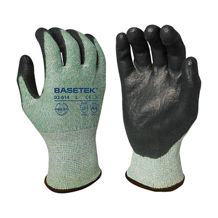 Armor Guys, Cut Level A4, Black PU Palm coating, 13 Ga, 02-014