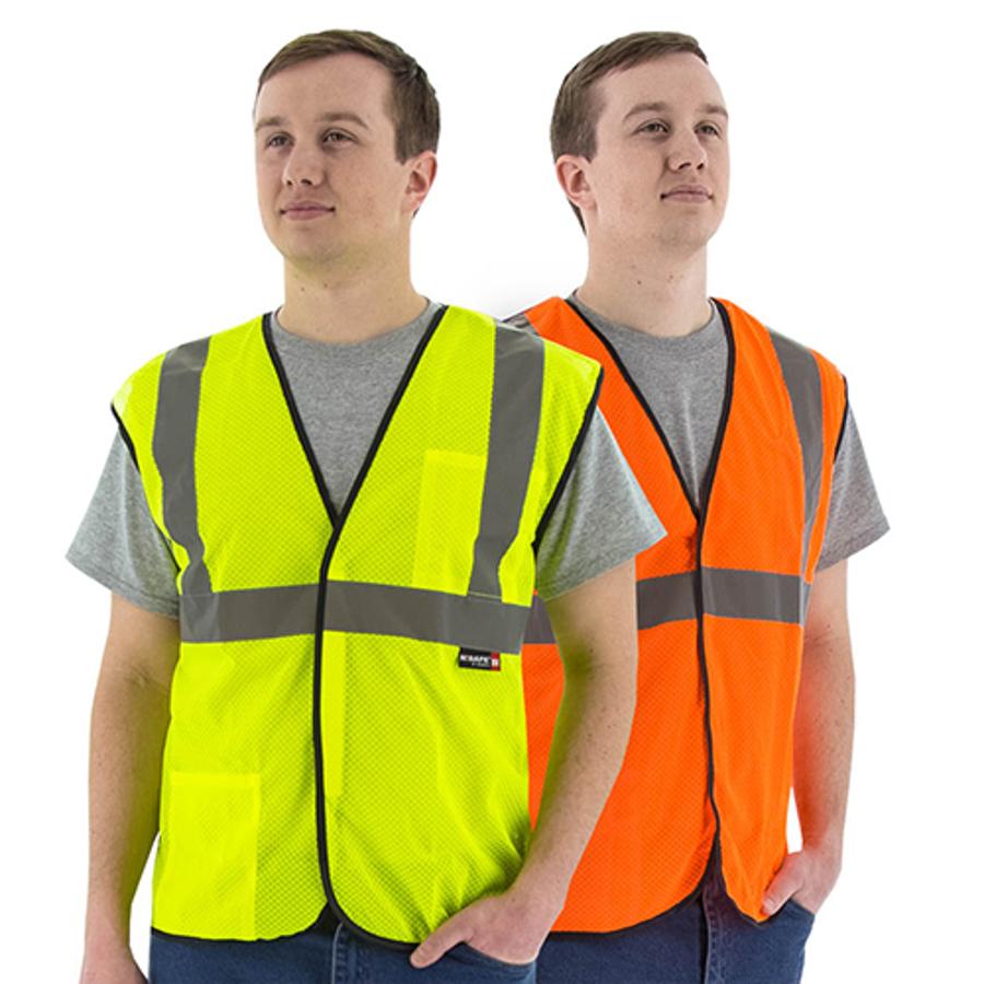 Class 2 Mesh Breakaway Vest, 75-3205/6
