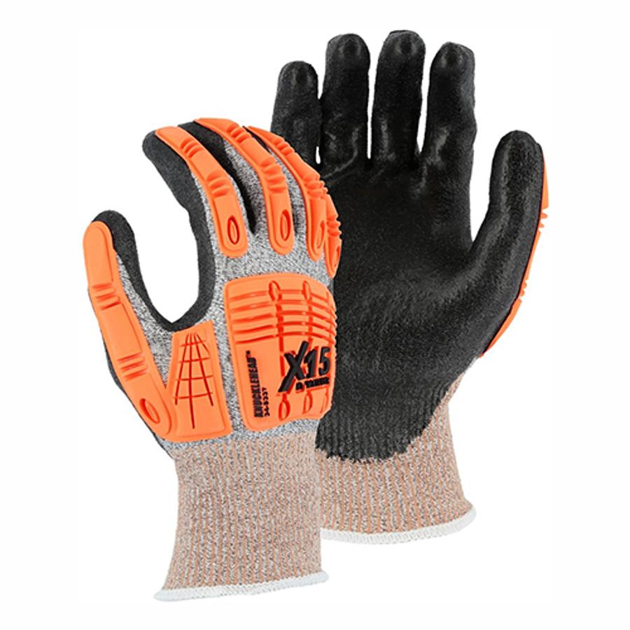34-5337 X-15 with Dyneema Cut & Impact Resistant Glove, Cut level 3