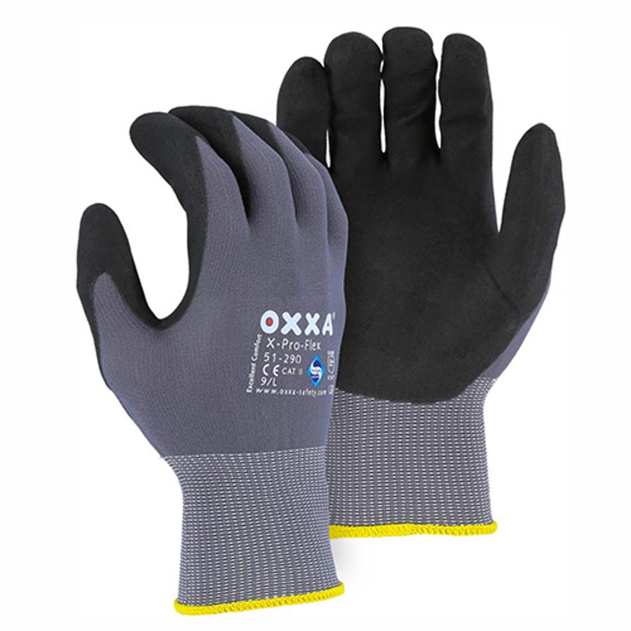 51-290 OXXA Superior Micro Foam Nitrile Palm on Nylon