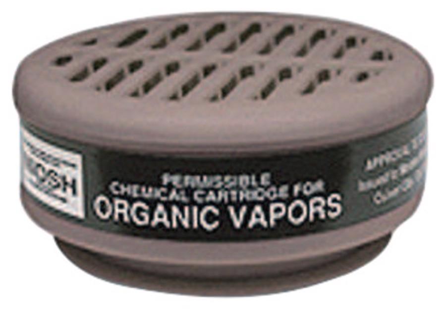 8000 Series Gas/Vapor Cartridges, Organic Vapors