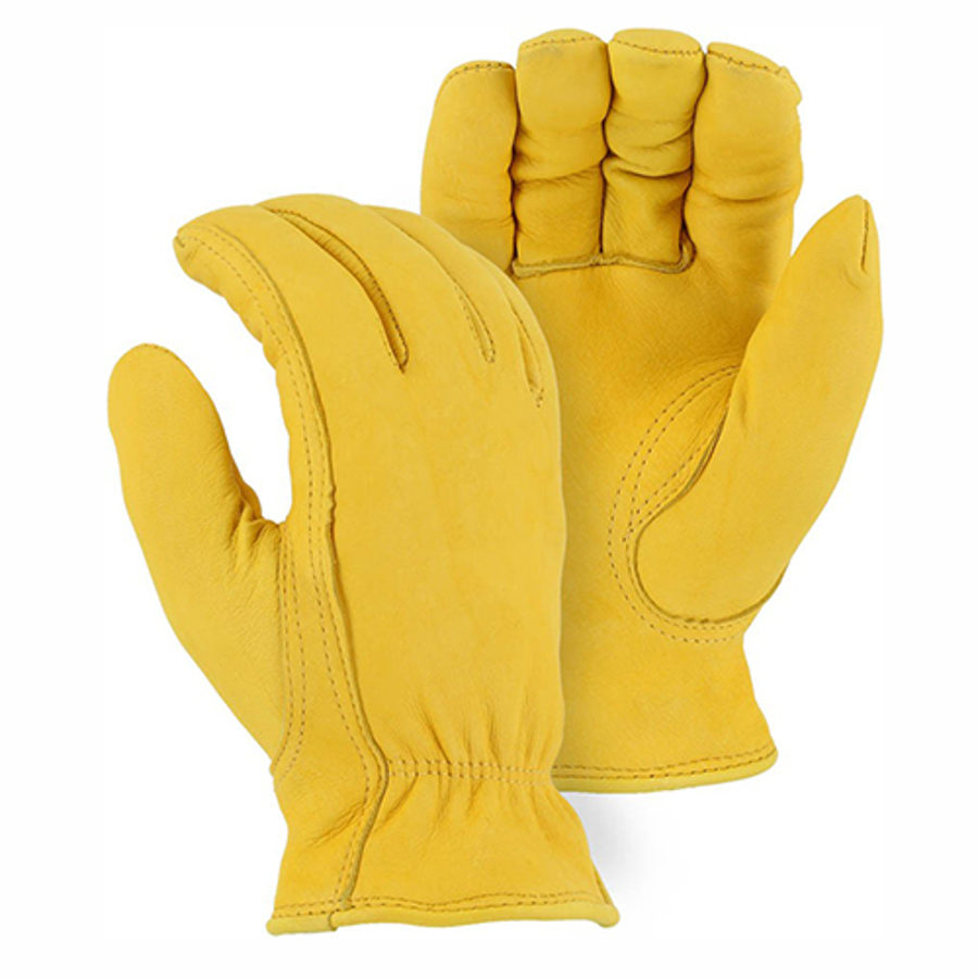 1542 Winter Lined Deerskin Drivers Glove