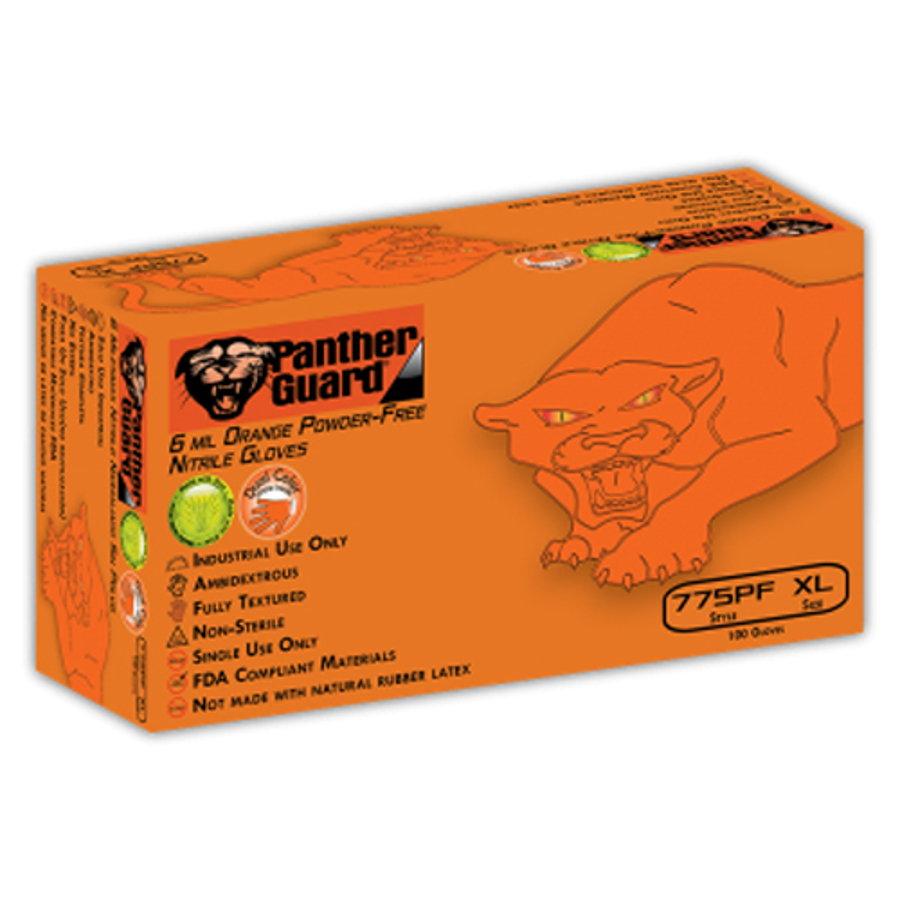 775PF Panther-Guard, Disposables - Industrial Grade Nitrile Glove