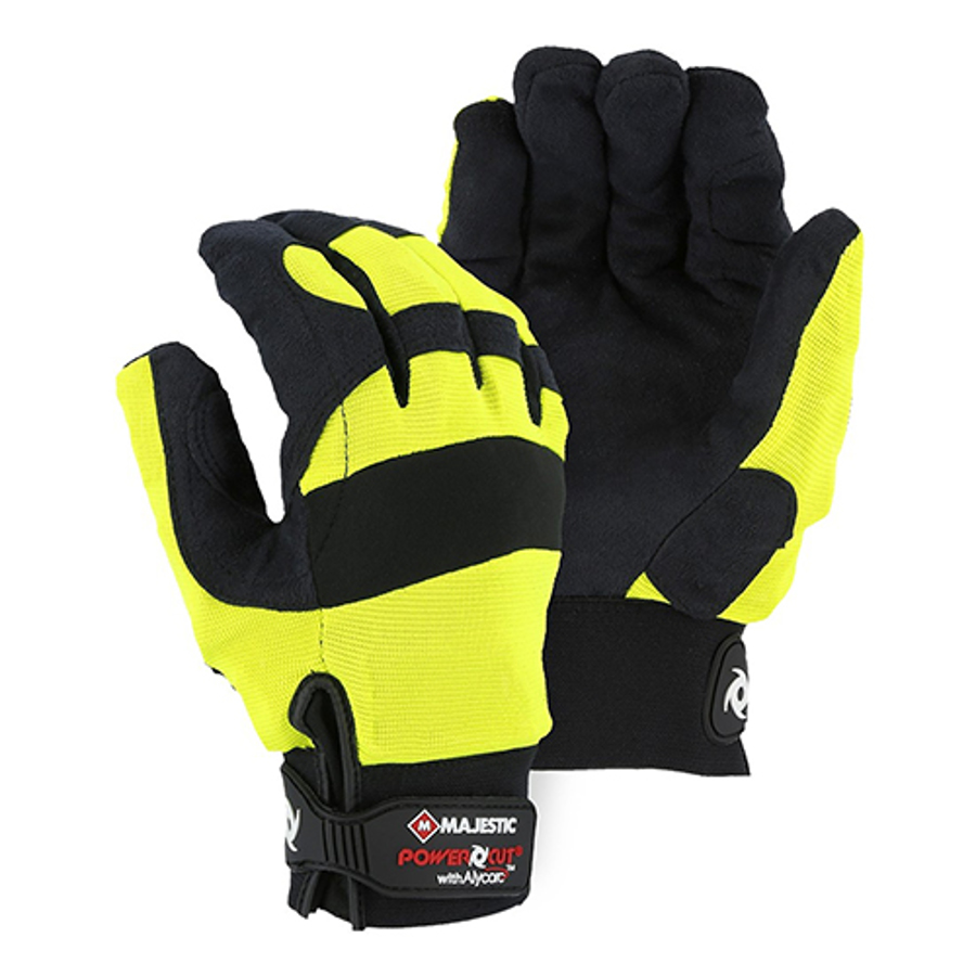 Alycore Cut & Puncture Resistant, 8 Layer in Palm Yellow Powercut, Medium