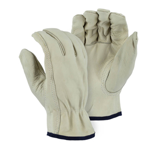 1510B AB Grade Cowhide Leather Driver Glove