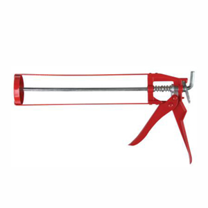 Caulk Guns, Skeleton, 13.2 oz, Red