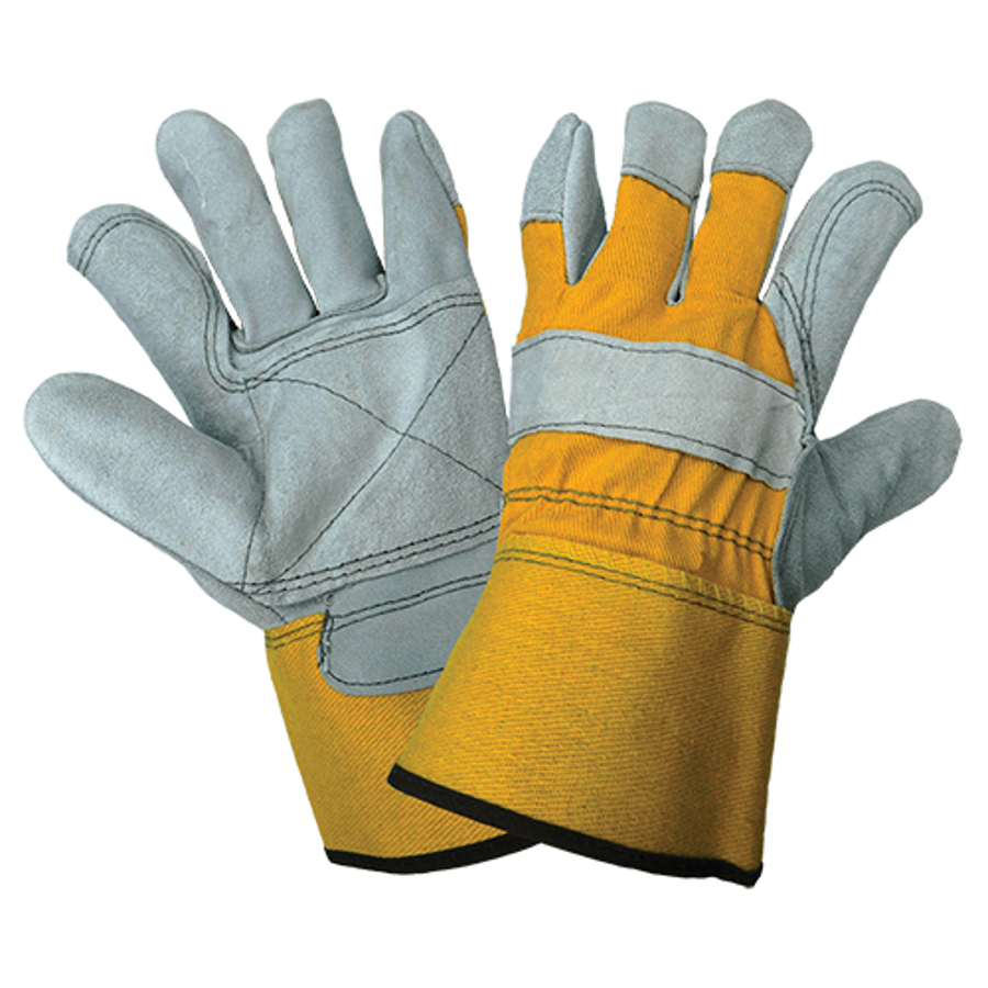 2190DP-9(L)- Leather Palm, Gunn Cut Glove