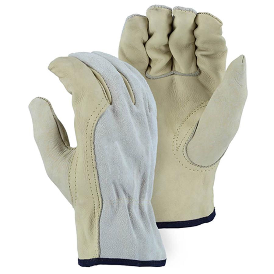 1532B Combination Cowhide Drivers Glove