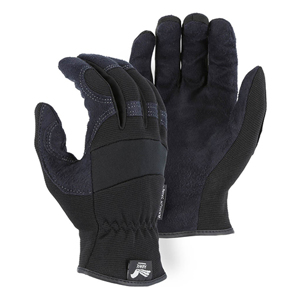 2136 Armor Skin Mechanics Glove with Knit Back