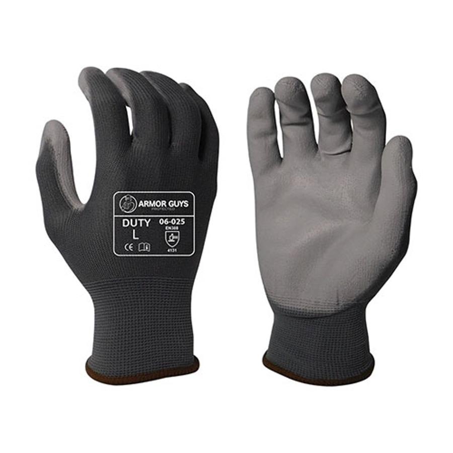 Armor Guys, Gray PU Palm Coating, 13 Ga, 06-025